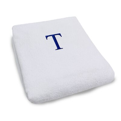 Superior Monogrammed Lounge Chair Cover Letter: T