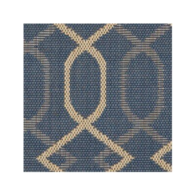 Hooper Blue Indoor/Outdoor Area Rug Rug Size: 53 x 73