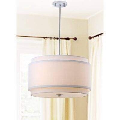Strickland 3 Light Drum Pendant