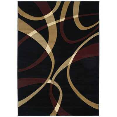 Havana Onyx Area Rug Rug Size: Rectangle 53 x 76