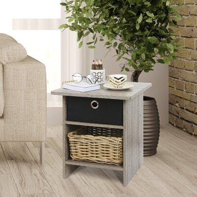 Brigette End Table Color: French Oak Grey