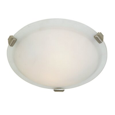 Duran Mount Size: 4.5 H x 16 W x 16 D, Finish: Brushed Nickel