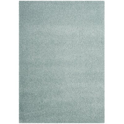 Colin Blue Area Rug Rug Size: Rectangle 53 x 76