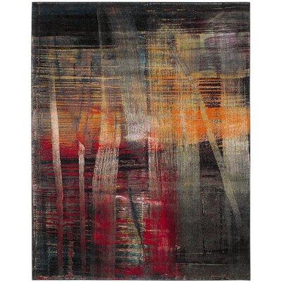 Charis Multi-Colored Area Rug Rug Size: Rectangle 8 x 10