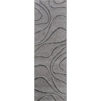 Marren Dark Gray Area Rug Rug Size: Runner 28 x 8