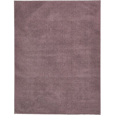 Taelyn Mauve Area Rug Rug Size: Rectangle 9 x 12