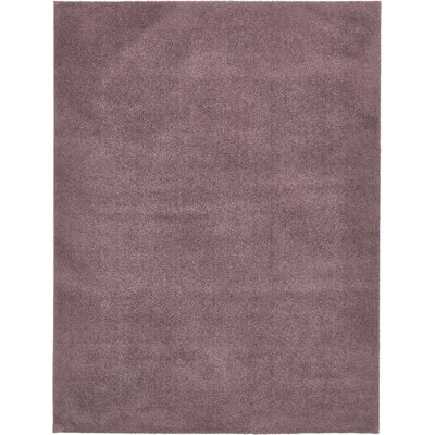 Taelyn Mauve Area Rug Rug Size: Rectangle 8 x 10