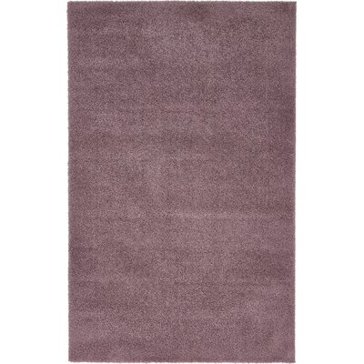 Taelyn Mauve Area Rug Rug Size: Rectangle 5 x 8