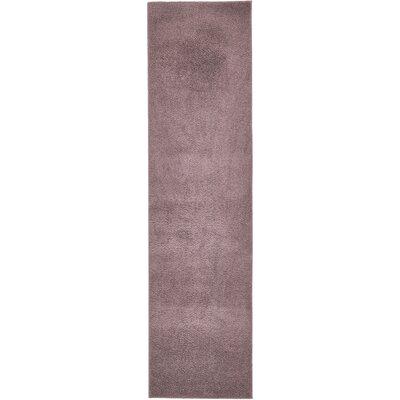 Kosinski Mauve Area Rug Rug Size: Runner 27 x 10