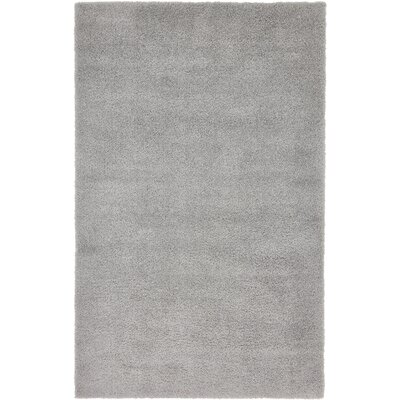 Koski Light Gray Area Rug Rug Size: Rectangle 5 x 8