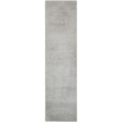 Starla Light Gray Area Rug Rug Size: Runner 27 x 10