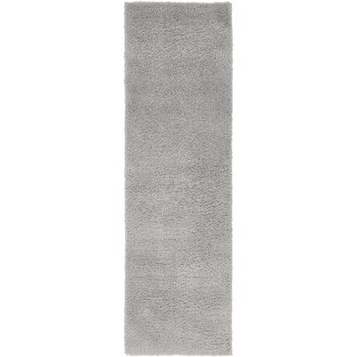 Koski Light Gray Area Rug Rug Size: Runner 2 x 67