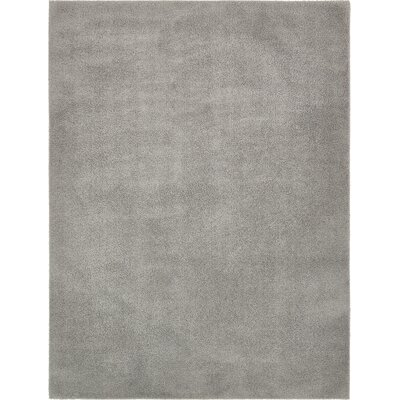 Starla Light Gray Area Rug Rug Size: Rectangle 9 x 12