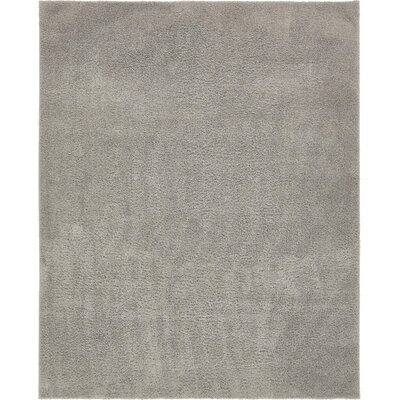 Koski Light Gray Area Rug Rug Size: Rectangle 8 x 10