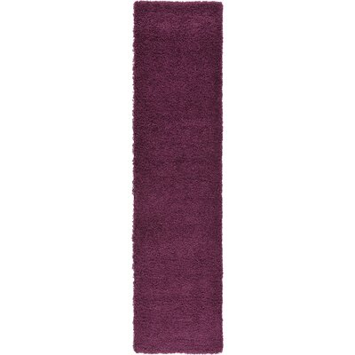 Marine Purple Area Rug Rug Size: Runner 26 x 10