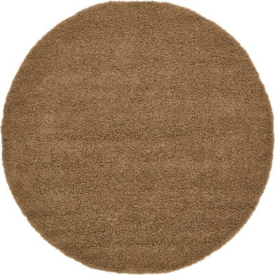 Katherin Brown Area Rug Rug Size: Rectangle 5 x 8