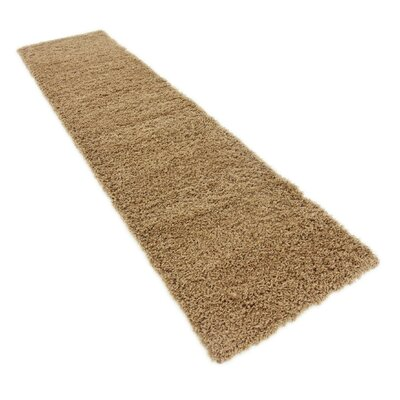 Katherin Brown Area Rug Rug Size: Runner 22 x 65