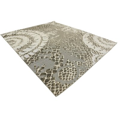 Annice Cream Indoor/Outdoor Area Rug Rug Size: Rectangle 8 x 10
