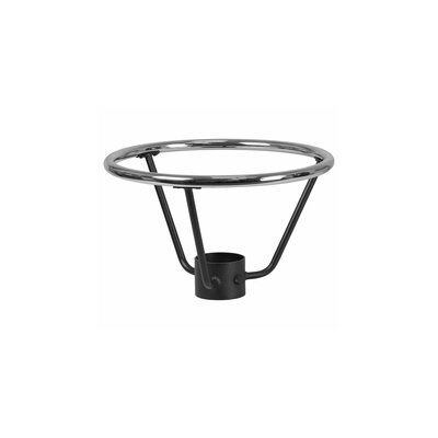 Basel Bar Height Table Base Foot Ring with Column Ring Size: 12 H x 19.5 W x 19.5 D