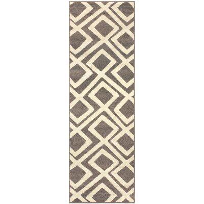 Darroll Flagstone Gray Area Rug Rug Size: Runner 27 x 8