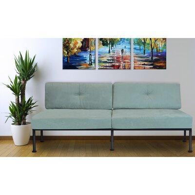 Balcom Sofa Upholstery: Sea Foam