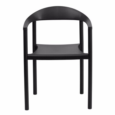Taylor Arm Chair Finish: Black