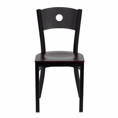 Taylor Side Chair Finish: Mahogany