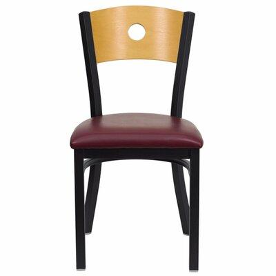 Taylor Chair Upholstery: Burgundy
