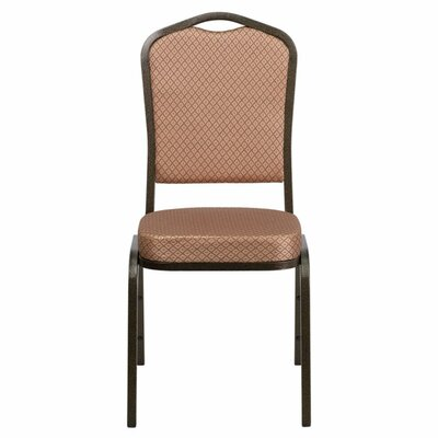 Taylor Crown Banquet Chair Seat Finish: Gold