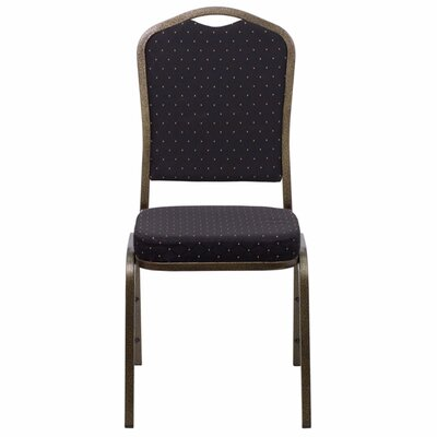 Taylor Crown Banquet Chair Seat Color: Black