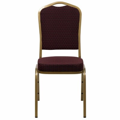 Taylor Crown Banquet Chair Seat Finish: Burgundy