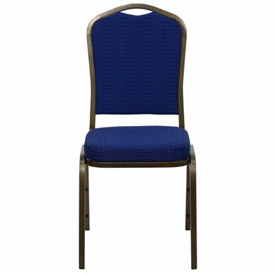Taylor Crown Banquet Chair Seat Finish: Navy Blue