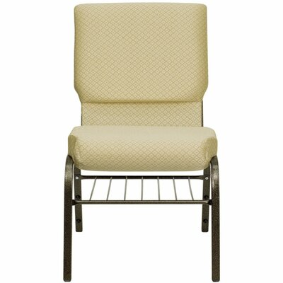 Taylor Church Chair Frame Finish: Gold Vein, Seat Finish: Beige