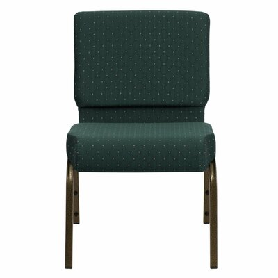 Taylor Stacking Church Chair Seat Color: Green Dot