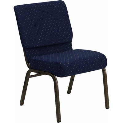 Taylor Stacking Church Chair Seat Color: Blue Dot