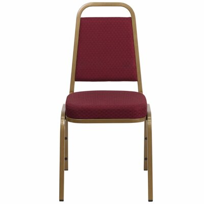 Taylor Trapezoidal Banquet Chair Seat Finish: Burgundy