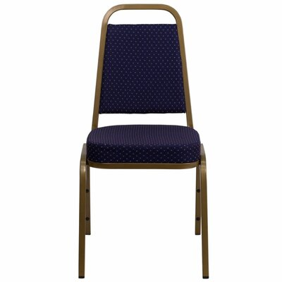 Taylor Trapezoidal Banquet Chair Seat Finish: Navy
