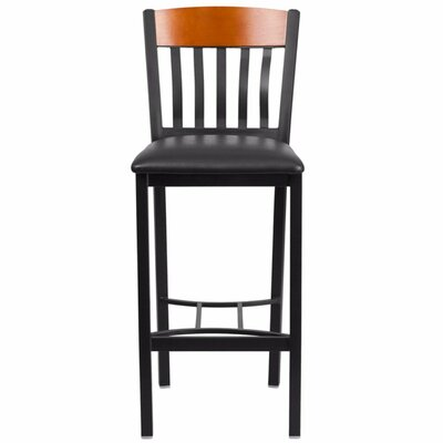 Marcie 30.5 Bar Stool Finish: Cherry