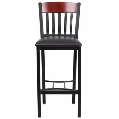 Marcie 30.5 Bar Stool Finish: Mahogany