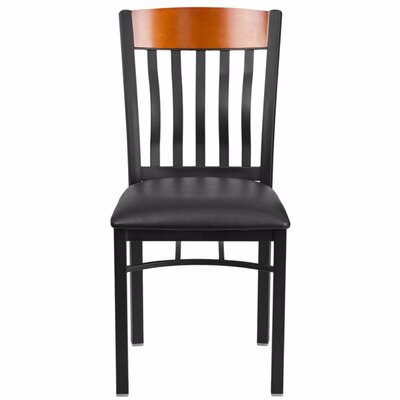 Marcie Vertical Back Side Chair Finish: Cherry