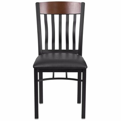 Marcie Vertical Back Side Chair Finish: Black
