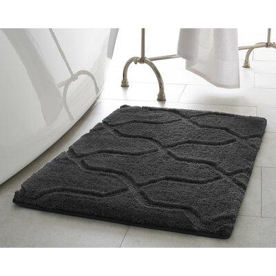 Bekasi Bath Mat Size: 24 x 17, Color: Gray Street