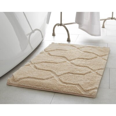 Bekasi Bath Mat Size: 32 x 20, Color: Berber
