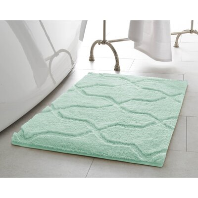 Bekasi Bath Mat Size: 32 x 20, Color: Sea Foam