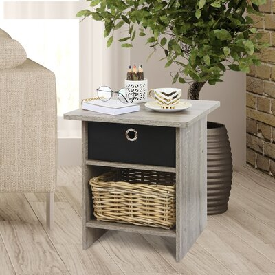 Lyle End Table Color: French Oak Grey