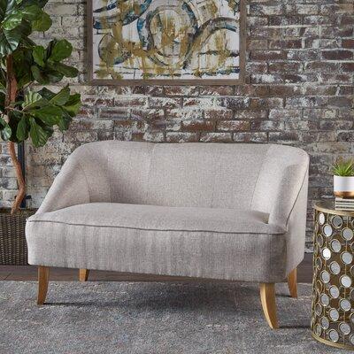 Balducci Loveseat Upholstery: Beige