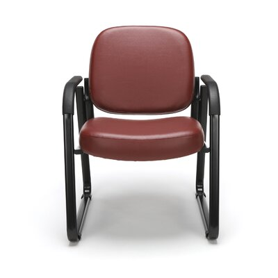 Galloway Guest Chair Color: Wine