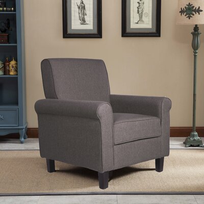 Margaux Accent Chair Upholstery: Dark Gray