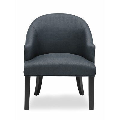 Carranza Barrel Chair Upholstery: Charcoal