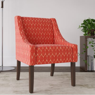 Elston Armchair Upholstery: Melon